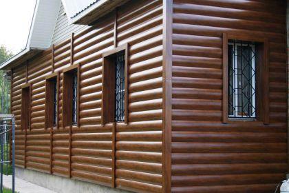 Сайдинг металлический Blok-House